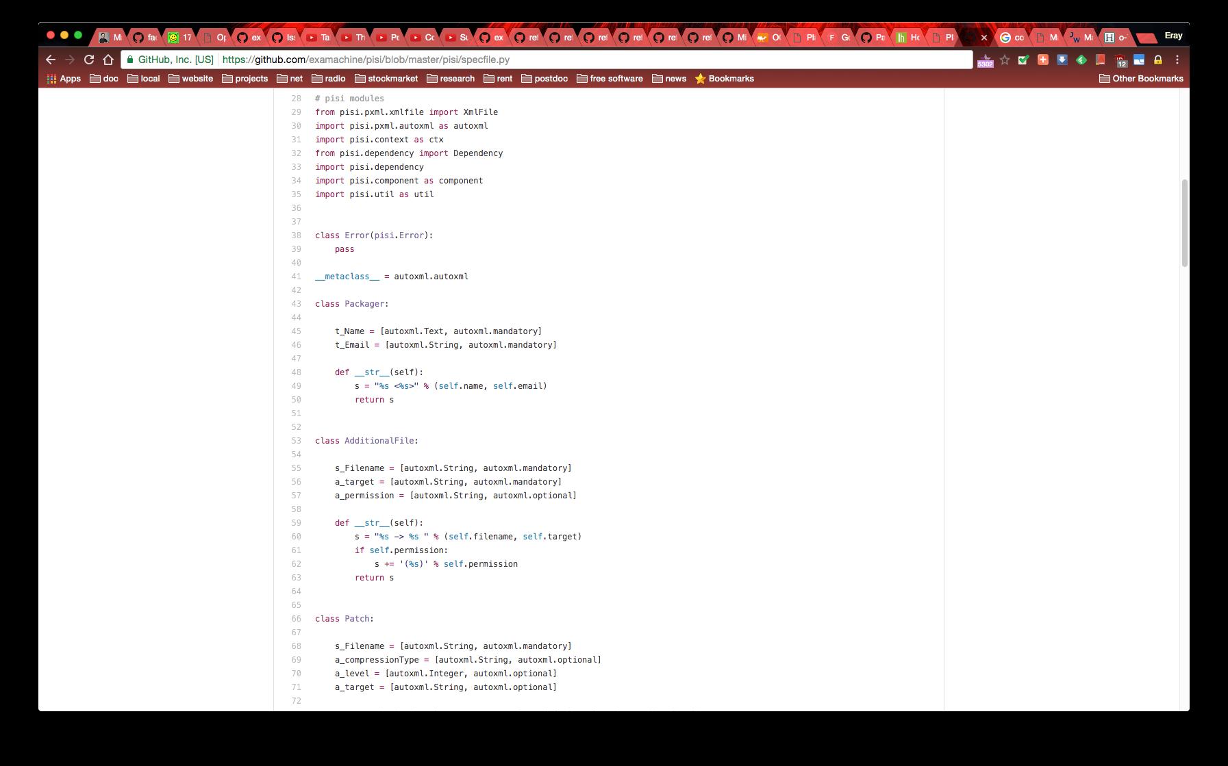 PISI Python Coding Standards